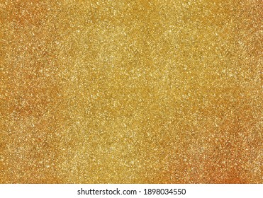 abstract gold glitter lights background