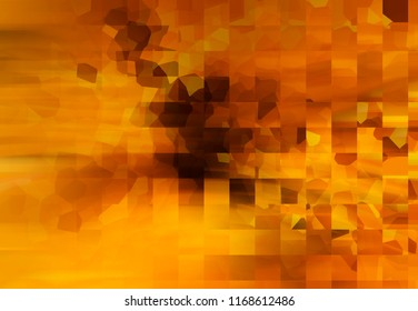 Abstract gold illustration.