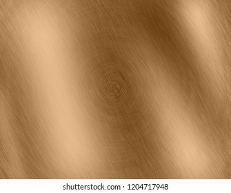 Abstract Gold metal brushed background or texture
