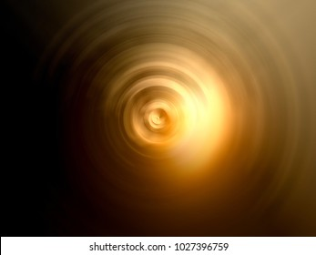 Abstract golden radial burred background