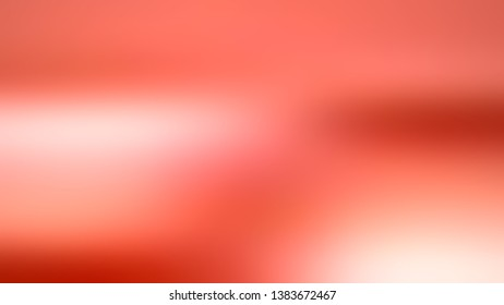 Abstract gradient background with Bittersweet Red, Pink color. Template for banner or presentation.