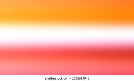 Abstract gradient background with Bittersweet, Sana color. Template for app or application.