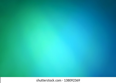 Abstract gradient background with blue and green colors