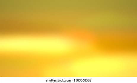 Abstract gradient background with Brass, Saffron color. Template for app or application.