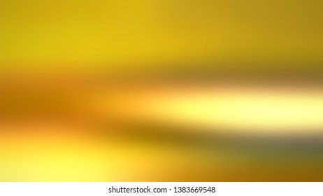 Abstract gradient background with Goldenrod, Dark goldenrod color. Template for newsletter.
