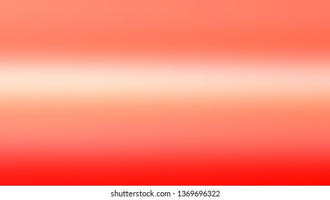 Abstract gradient background with Salmon, Bittersweet color. Template for label design.