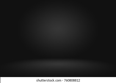 Abstract gradient black, used as background for display your products