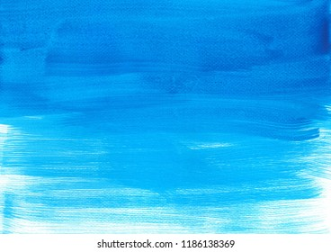 abstract gradient blue watercolor paint, wallpaper texture background illustration