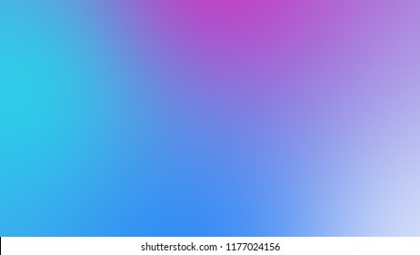 Abstract gradient pink purple and blue soft colorful background. Modern horizontal design for mobile app.
