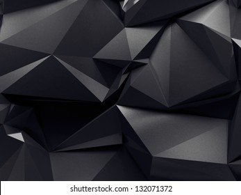 abstract graphite crystal background