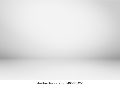 Abstract gray background white backdrop