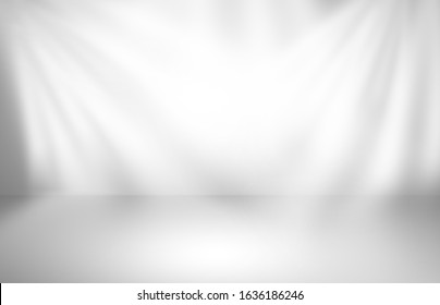 Abstract gray studio gradient wall and floor background in empty room with light for modern template banner graphic creative design, smooth backdrop texture wallpaper and studio space - Shutterstock ID 1636186246