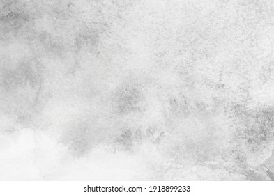 Abstract gray watercolor background texture