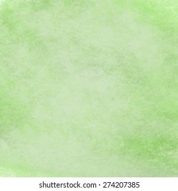 abstract green background with  soft pastel green vintage grunge background texture design on border, light green paper page, old abstract background