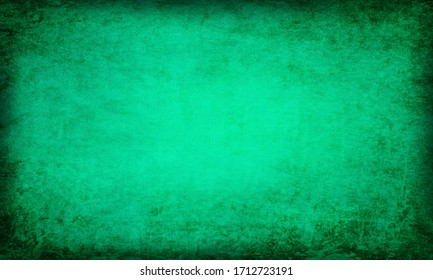 abstract green background with vintage grunge background texture