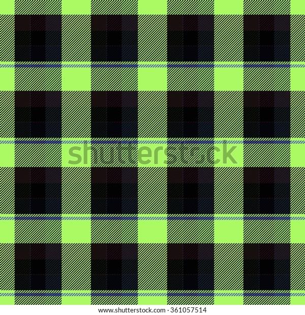 Abstract Green Black Checkered Wallpaper Stock Illustration 361057514
