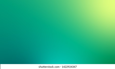 Abstract green and blue gradient soft color background. Ecology concept for your graphic design.