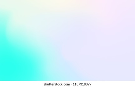 Abstract green blue and pink soft cloud background in pastel colorful gradation.