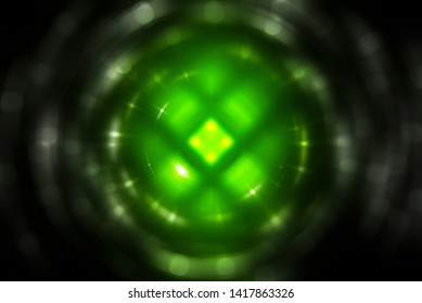 Abstract green motion illustration background.