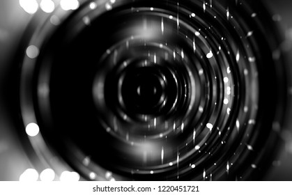 Abstract grey motion illustration background.
