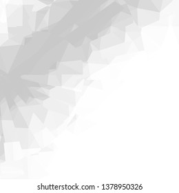 Abstract grey and white background. Modern design for business, science and technology.