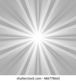 Abstract  grey and white shiny lights background image illustration.