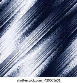 Abstract grunge brushed diagonal background. Seamless pattern.