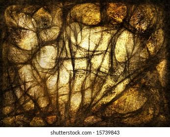 Abstract grunge texture, illustration