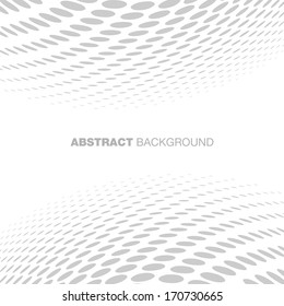 Abstract Halftone Gray Technology Background, raster illustration