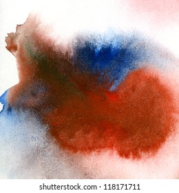 Abstract hand drawn watercolor background, for backgrounds or textures