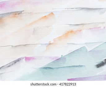 Abstract hand drawn watercolor background. Stylish watercolor design cover, wallpaper.