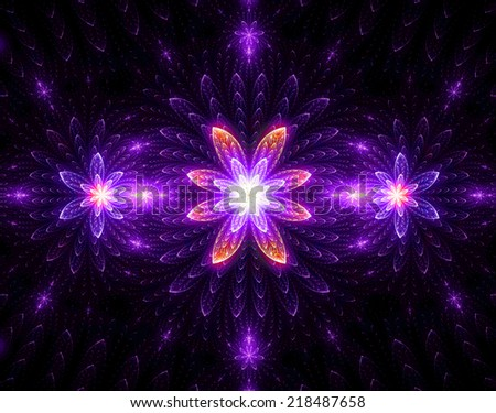 Abstract High Resolution Wallpaper With A Detailed Modern Exotic Looking Shining Blazing Star Pattern In Pink