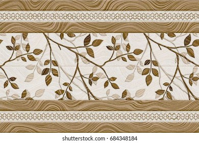 abstract home decorative oil paint wall tiles design pattern background,