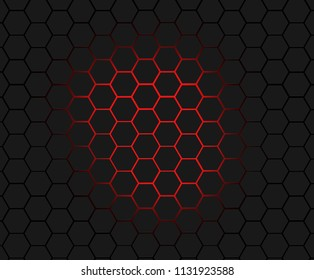 abstract honeycombs, backgrounds.