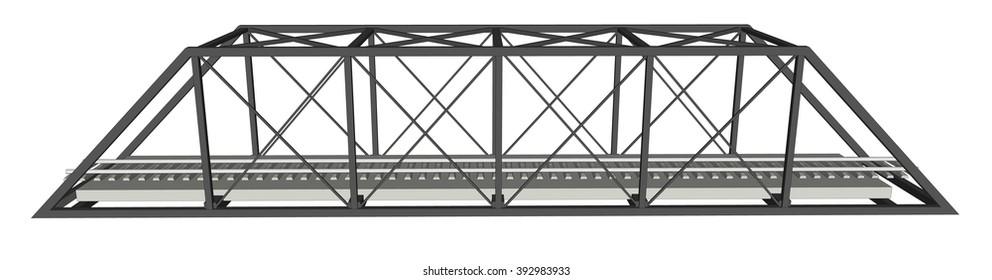 Abstract iimage bridge industrial background 2