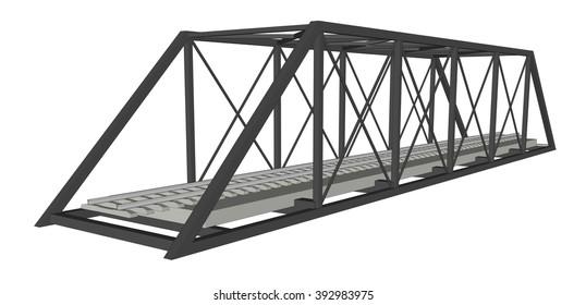 Abstract iimage bridge industrial background 5