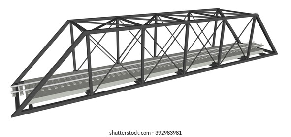 Abstract iimage bridge industrial background 1