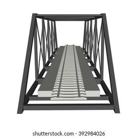 Abstract iimage bridge industrial background 4