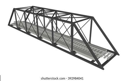 Abstract iimage bridge industrial background 3