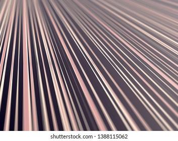 abstract illustration background, lines, oblique, dark, pink, 3d rendering