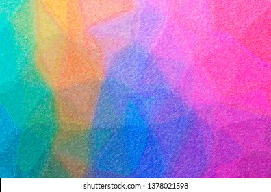 Abstract illustration of blue and purple Color Pencil High Coverage background