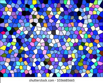 abstract illustration | colored geometric pattern | mosaic wallpaper for background,texture,backdrop,postcards,postcard or advertising design