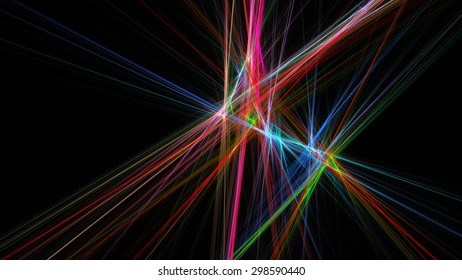 Abstract illustration. Format 16:9 for widescreen monitors. Fractal Wallpaper on your desktop.