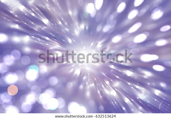 Abstract illustration glow soft hearts for Valentines day. Background violet design.