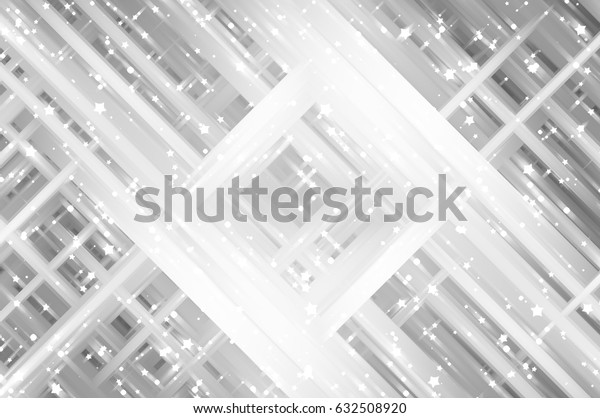 Abstract illustration grey background with various color lines and strips. illustration technology.