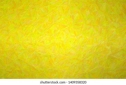 Abstract illustration of peridot  Impressionist Impasto background, digitally generated