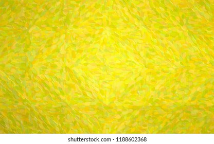 Abstract illustration of peridot Long dots pointillism background, digitally generated