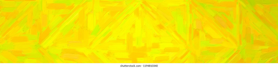 Abstract illustration of peridot Abstract Oil Painting banner background, digitally generated.