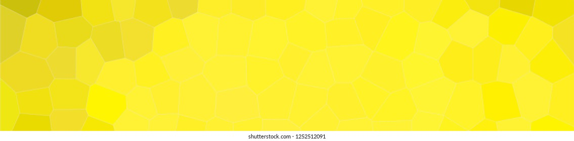 Abstract illustration of peridot pastel Middle size hexagon banner background, digitally generated.