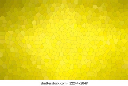 Abstract illustration of peridot  pastel Small Hexagon background, digitally generated.